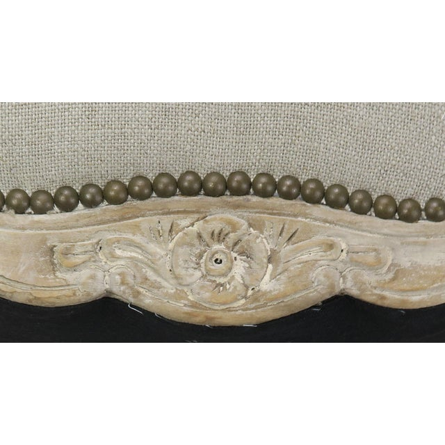 French French Louis XV Style Linen Bench, Circa 1900 For Sale - Image 3 of 13