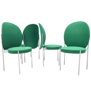 Mid-Century Chairs by Verner Panton for Thonet - Set of 4 For Sale