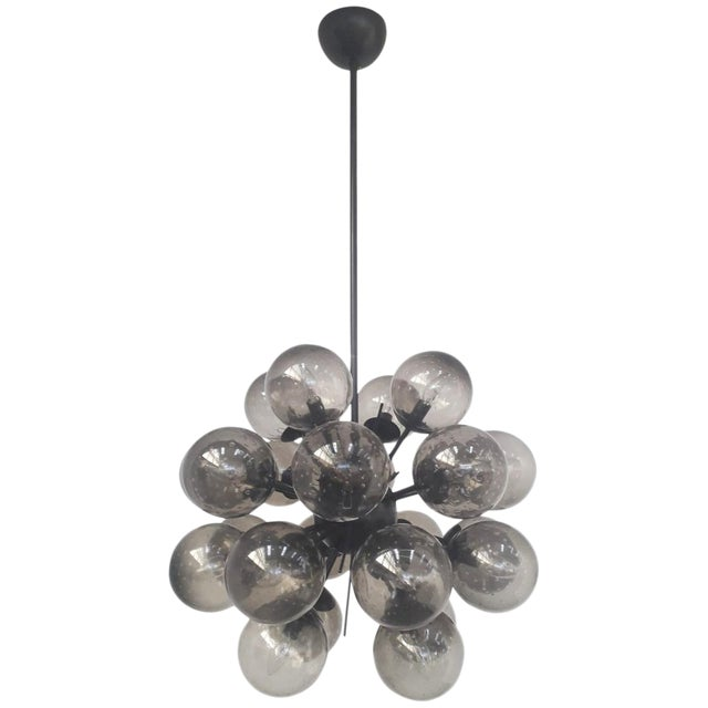Ventiquattro Sputnik Chandelier by Fabio Ltd For Sale
