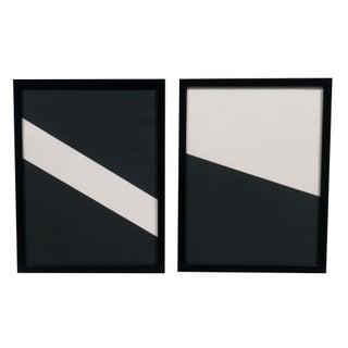 Pair of Geometrics by Martha Angus