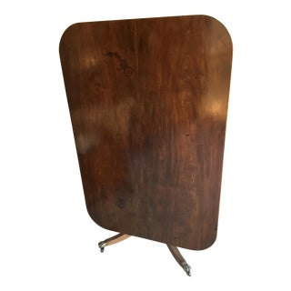Circa 1790 George III Tilt Top Mahogony English Breakfast Table For Sale