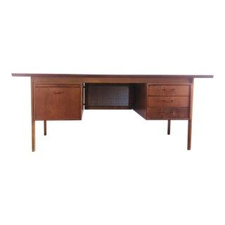 Mid Century Danish Modern Desk by Torben Strandgaard For Sale