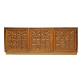 Hollywood Regency Henredon Town and Country Credenza For Sale