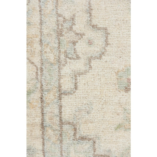 """New Oushak Hand Knotted Runner - 2'7"""" x 9'4"""" - Image 3 of 3"""