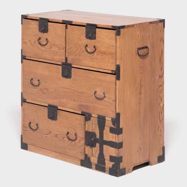 Designed to be portable and functional, Japanese tansu chests were versatile storage cabinets used for all kinds of...