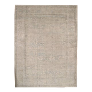 Pasargad Original Turkish Oushak Hand-Knotted Rug - 12′3″ × 16′3″ For Sale