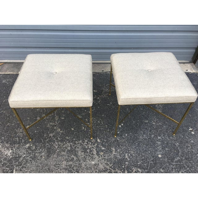 Paul McCobb X-Base Stools - A Pair - Image 3 of 6