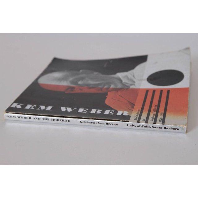 KEM Weber KEM Weber the Moderne in Southern California, 1920-1941 Monograph with Ephemera For Sale - Image 4 of 11