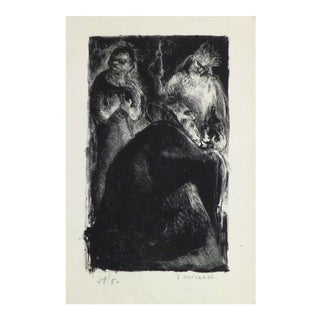 S. Moutarde, Lithograph - the Trio For Sale