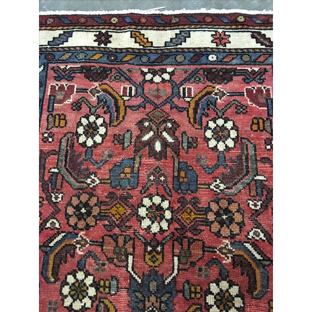 "Karajeh Persian Runner - 2'9"" x 9'9"" - Image 7 of 10"
