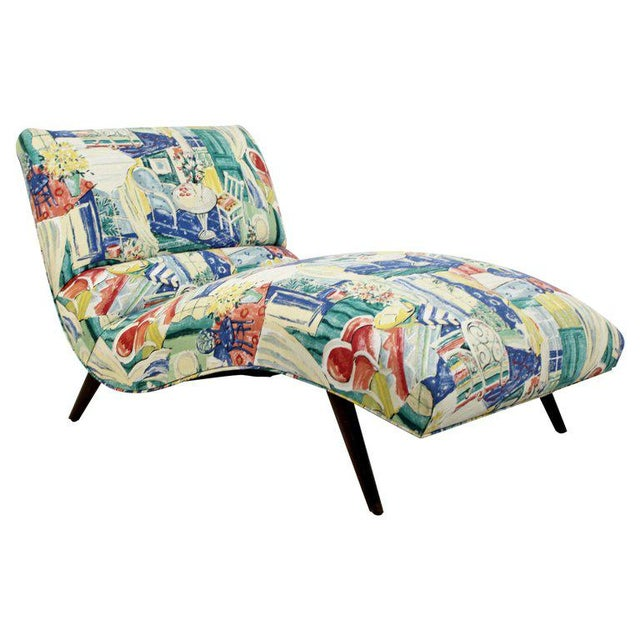 Mid-Century Modern Contour Wave Chaise Lounge Chair by Adrian Pearsall, 1950s For Sale - Image 10 of 10