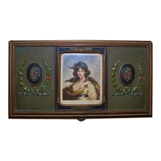 1920s Jewelry Box Signed by Hugh. H. Banner For Sale
