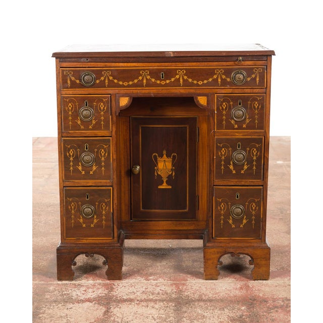 18th-Century Petite Georgian Inlaid Desk - Image 4 of 10