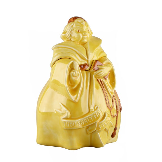 Red Wing USA Vintage Friar Tuck Cookie Jar - Image 3 of 7