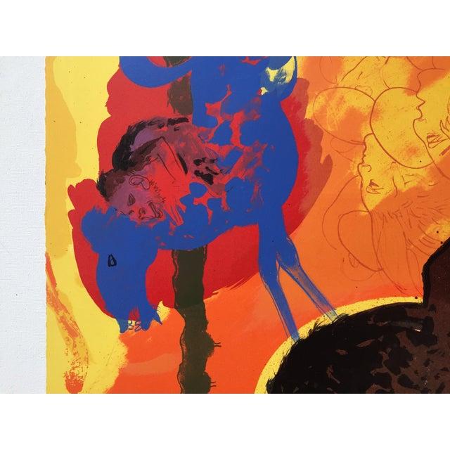 "Robert Beauchamp Original Lithograph "" Riders"" - Image 5 of 6"