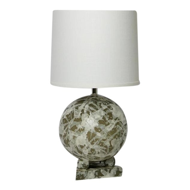 Ceramic Geometric Ball Lamp For Sale