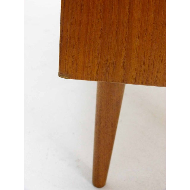 Danish Teak Record Cabinet by Povl Dinesen For Sale - Image 7 of 10