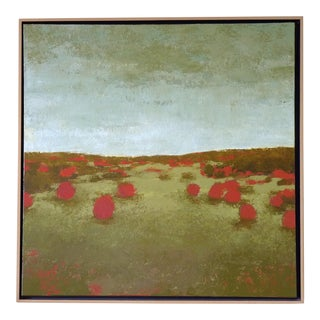 """Shelley Mansel """"Red Bushes"""" Painting, 2007 For Sale"""