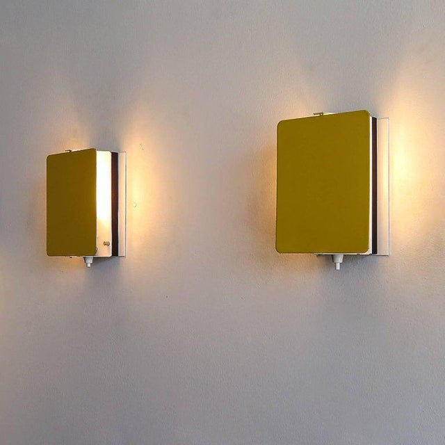 Charlotte Perriand Cp-1 Wall Lights Yellow For Sale - Image 9 of 10