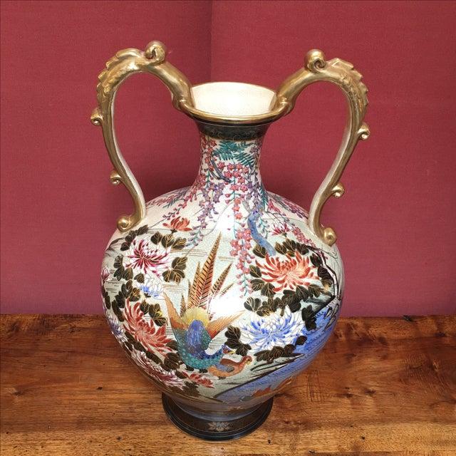 Hand Painted Japanese Imari Vase - Image 3 of 11