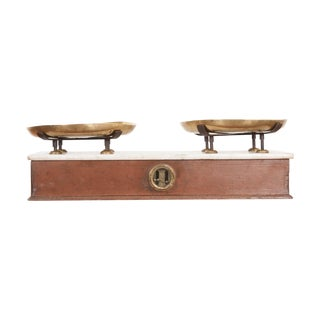 French 19th Century Culinary Scale From Lyon For Sale