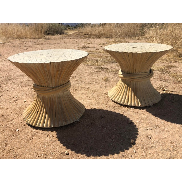 1980s 1980s Moorish Cane Side Tables - a Pair For Sale - Image 5 of 9