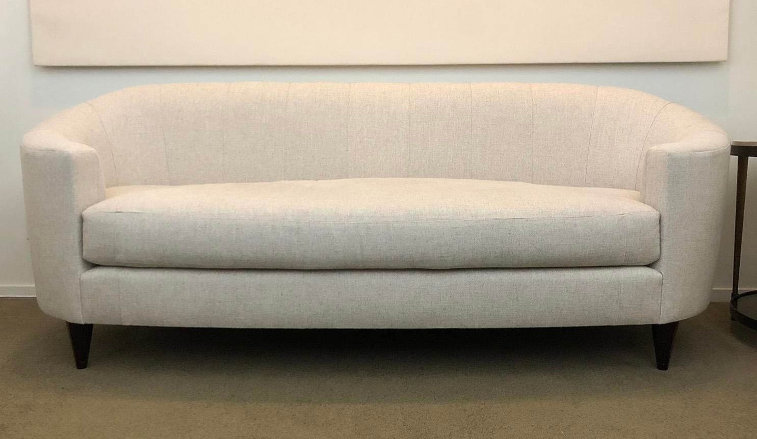 Genial Thomas Pheasant For Baker Oval Sofa For Sale   Image 5 Of 5