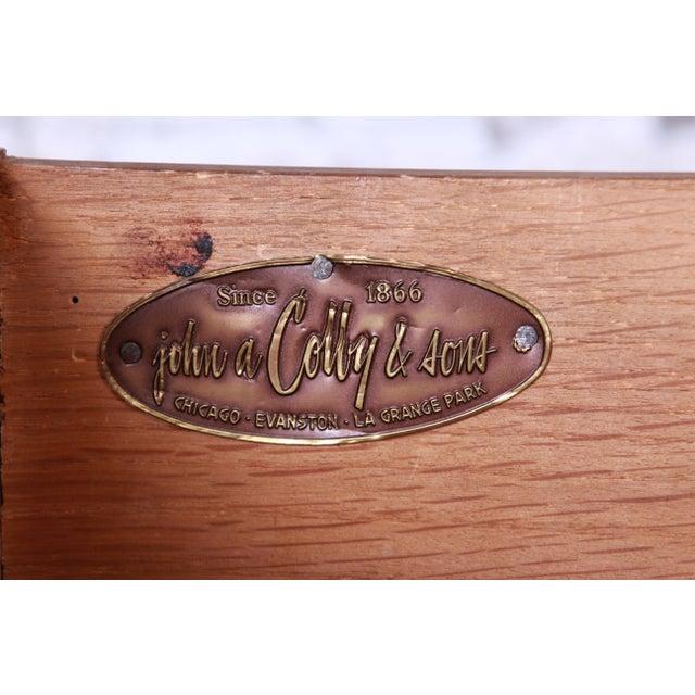 Baker Furniture Hollywood Regency Ebonized Long Dresser For Sale - Image 12 of 13
