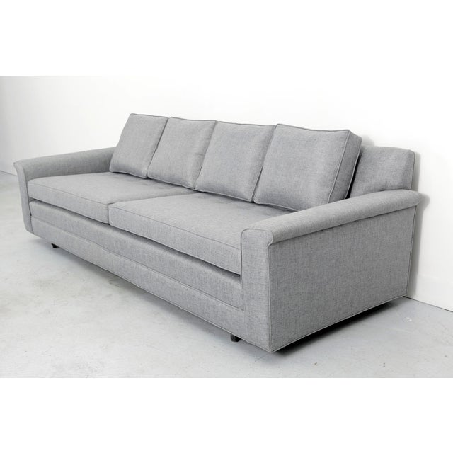 Gray Dunbar Sofa by Edward Wormley For Sale - Image 8 of 8