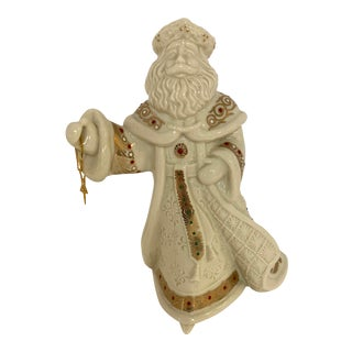 2000s Lenox Ceramic Victorian Santa For Sale