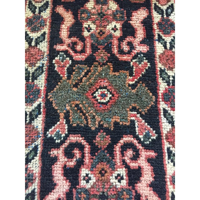 1930s Vintage Distressed Persian Meshkabad Rug - 10′4″ × 13′6″ For Sale - Image 6 of 13