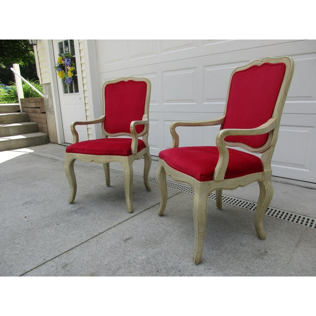 20th Century French Provincial Baker Side or Dining Chair For Sale - Image 9 of 12