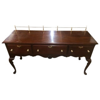 Link-Taylor Solid Mahogany Buffet Console Table