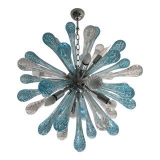 Contemporary Murano Glass Sputnik Chandelier For Sale