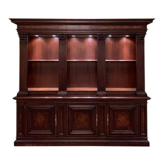 Councill Mahogany Bookcase For Sale