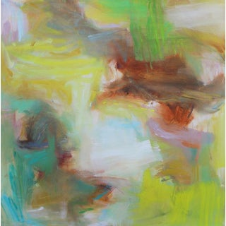 """""""Appalachian Spring"""" by Trixie Pitts Large Abstract Oil Painting For Sale"""