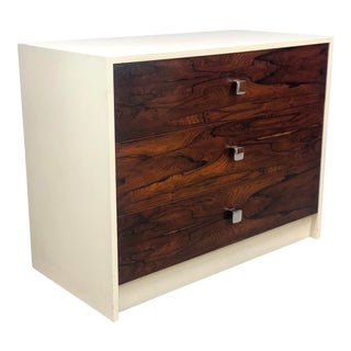 1970s Mid-Century Modern Rosewood Bachelor Chest For Sale