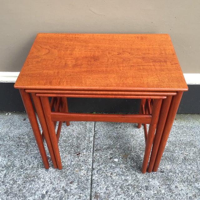 Hans Wegner Nesting Tables - Set of 3 - Image 2 of 11