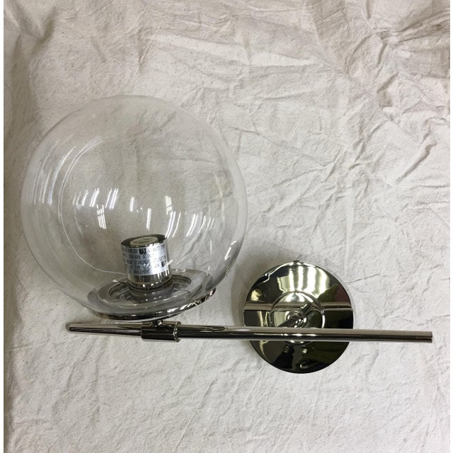 Contemporary Visual Comfort Tureene Small Sconce in Polished Nickel 2255pn For Sale - Image 3 of 4