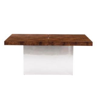 1970s Mid-Century Modern Milo Baughman Dining Table For Sale