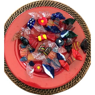 Murano Art Glass Candies - 20 Pieces For Sale
