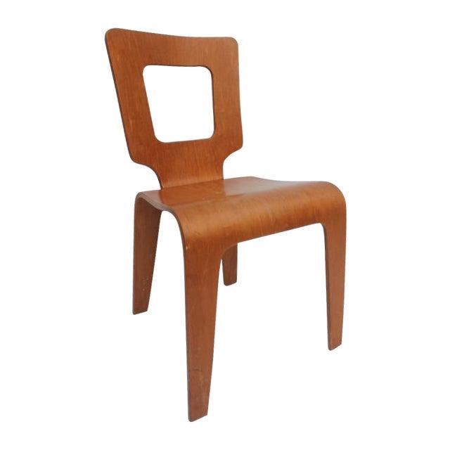 Thaden Jordan Mid-Century Bentwood Birch Chair For Sale