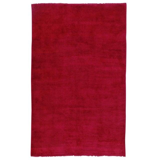 Fantastic Red Tulu Carpet For Sale