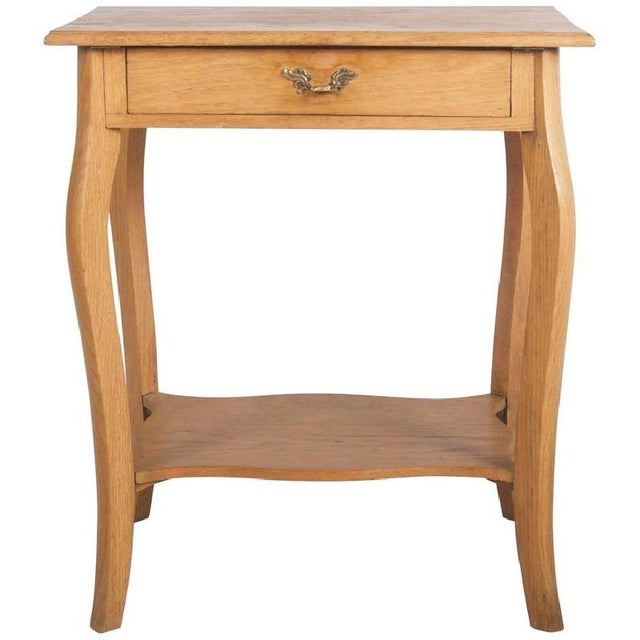 Small Oak Console Table, 1930s For Sale - Image 6 of 6