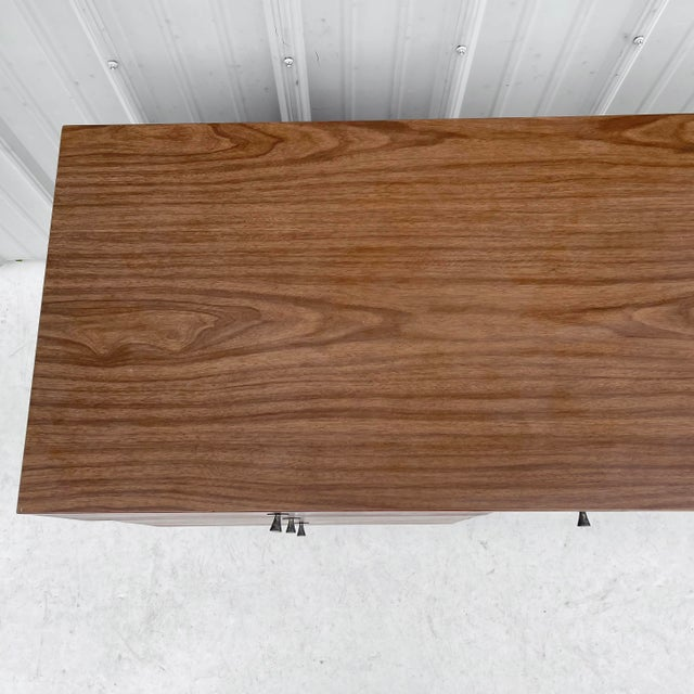 1960s 1960s Wood Mid-Century Modern Writing Desk For Sale - Image 5 of 13