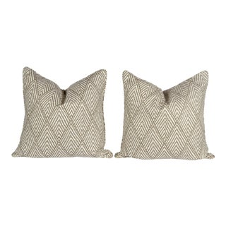 Tahitian Stitch Ikat Pillows - A Pair