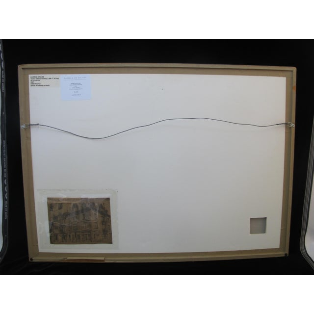 1957 LaVerne Krause Signed Idaho Coeur d'Alene Building Framed Oil Painting For Sale In Portland, OR - Image 6 of 9