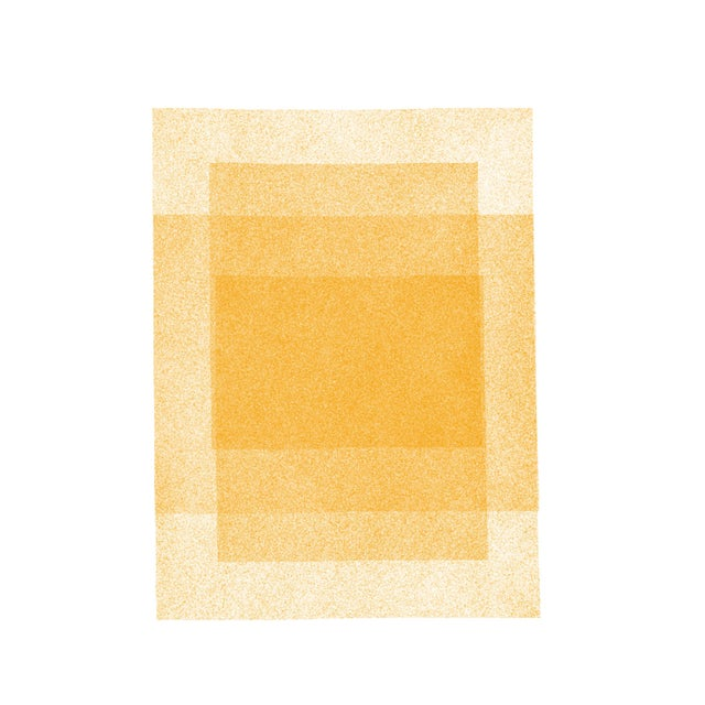 Golden Rectangles Within Rectangles, Soft Geometry Series Print by Jessica Poundstone For Sale