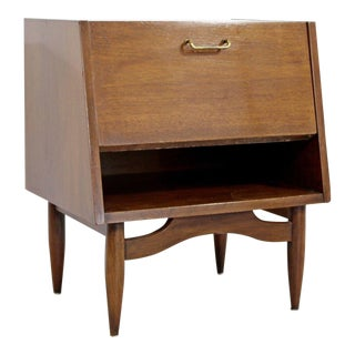 Mid Century Modern American Martinsville Dania Gershun Side End Table Nightstand For Sale