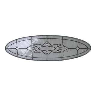Leaded Stained Beveled Glass Window